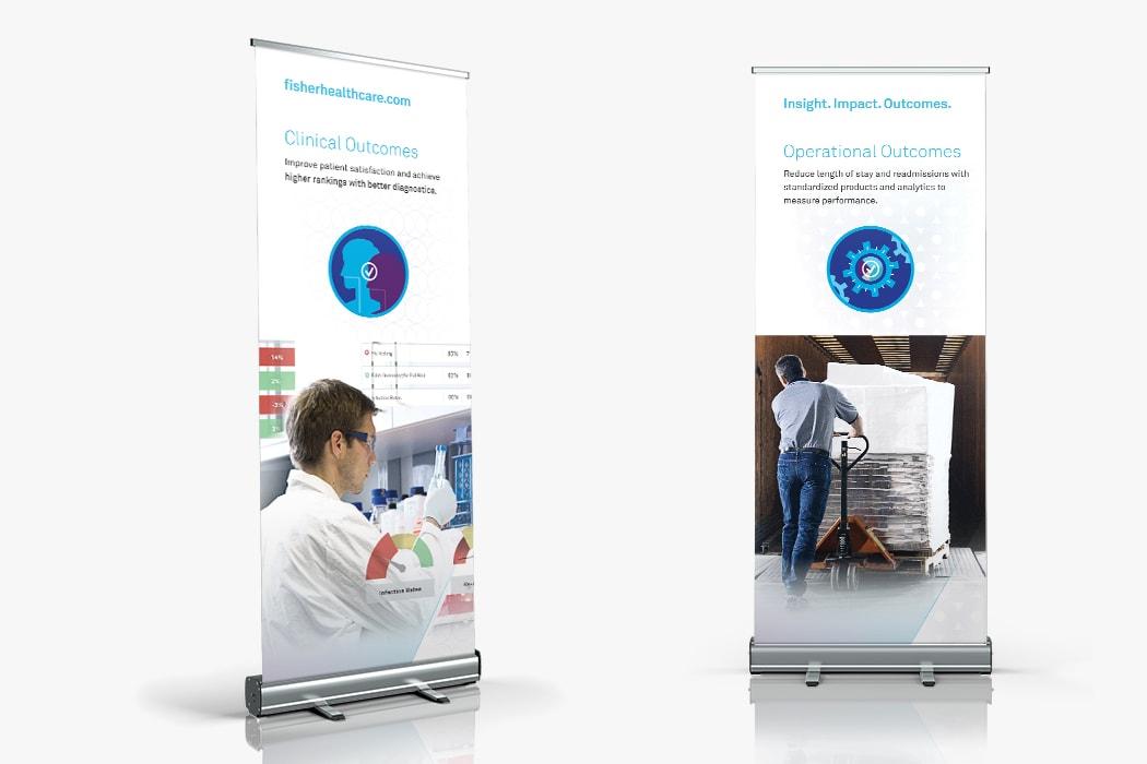 Fisher Scientific Brand Brochure Spread