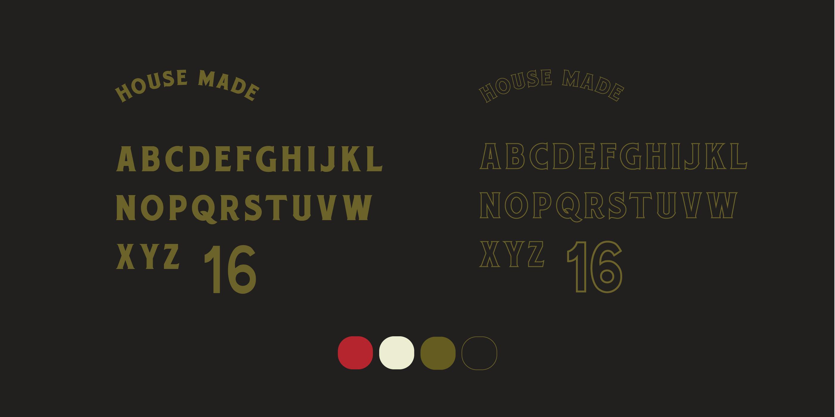 Ki Ramen Brand Typography